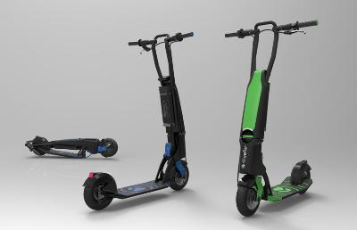 Solvay Presents Kleefer's Bud-e Urban Scooter with Fairing